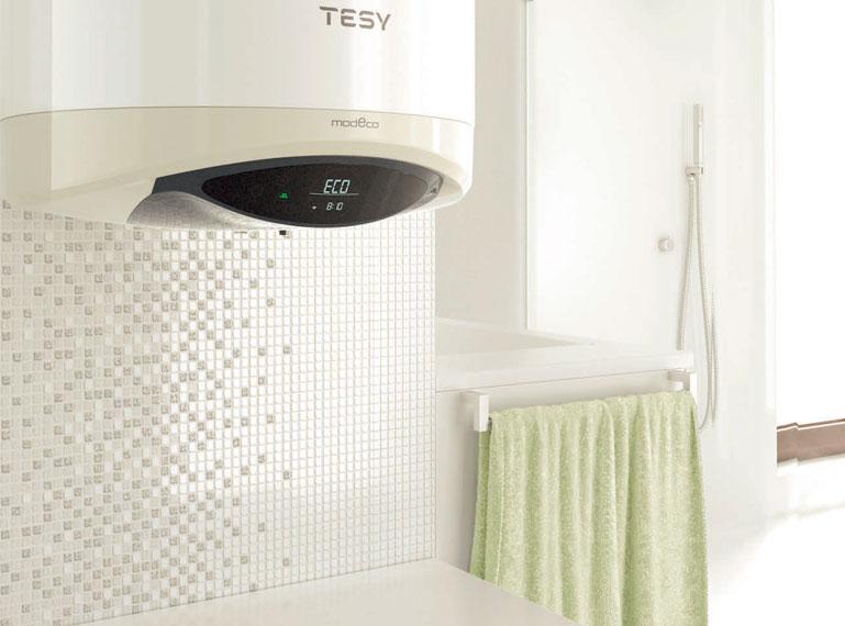 Los termos eléctricos TESY Iberia cuentan con intercambiador de calor incorporado