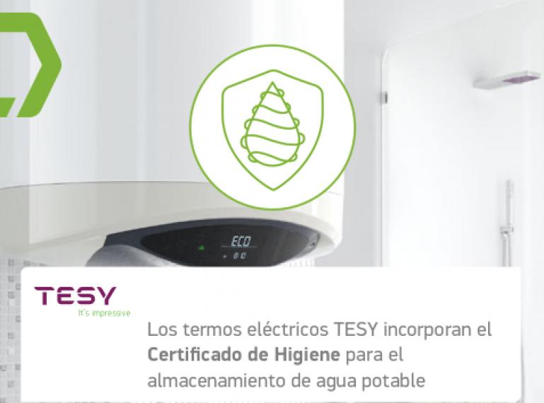 ¿Sabías que todos los termos y acumuladores de agua de TESY evitan la aparición de bacterias?
