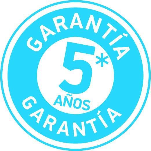 sello garantia 5 años