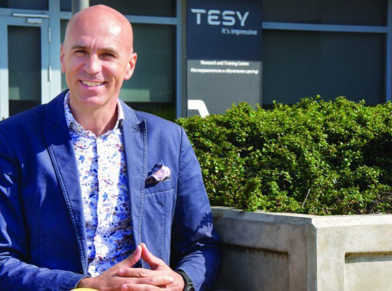 Emmanuel Totev, Director Comercial, Marketing y Logística de TESY en una entrevista para CAPITAL