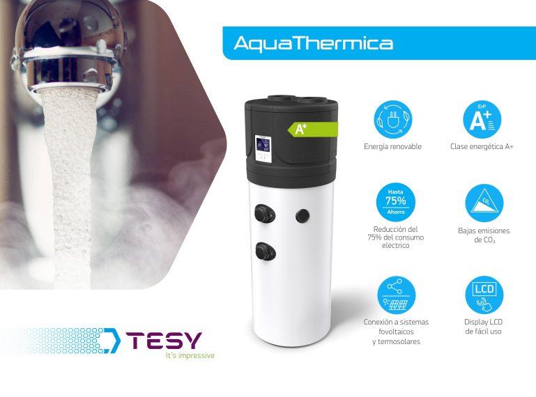 Aerotermia ACS: Instalar una bomba de calor para obtener agua caliente sanitaria