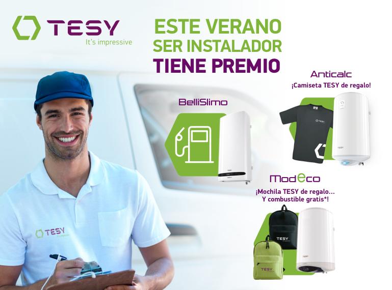 Comprar termos eléctricos TESY tiene premio